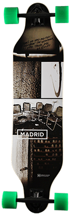 Madrid Weezer Collage Longboard