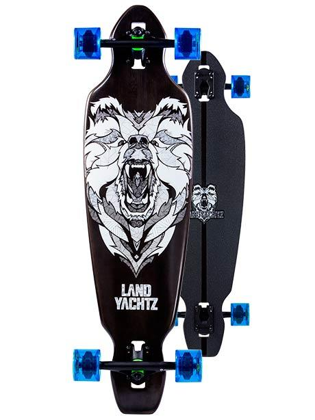 Landyachtz Battle Axe 35 Bear Longboard