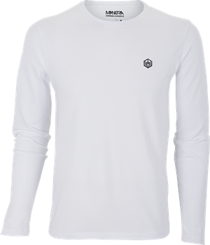 Manera Tee Shirt Lavanono Long Sleeve White