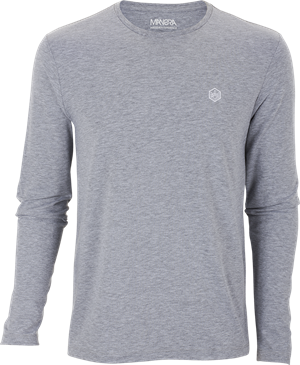 Manera Tee Shirt Lavanono Long Sleeve Gray