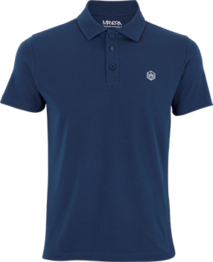 Manera Manera Polo Shirt Le Morne Short Sleeves Blue