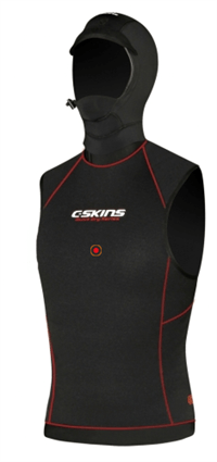 C-skins: Hot Wired 0.5mm Hooded vest