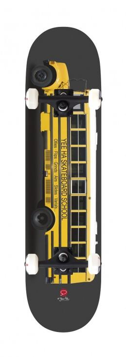 Miller Division Yellow Bus skateboard