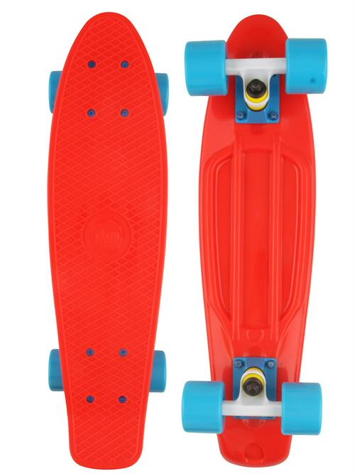 Naked Original Red Deluxe Skateboard