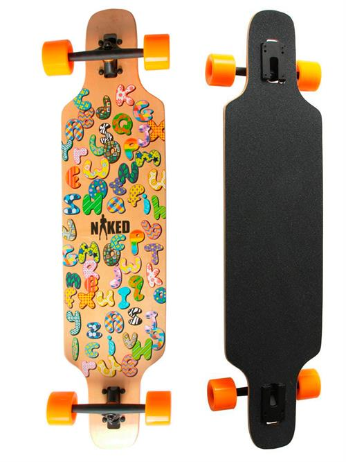 Naked Teen Longboard