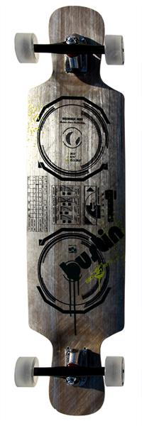 "Bustin Boombox 38"" Thermo Glass Longboard"