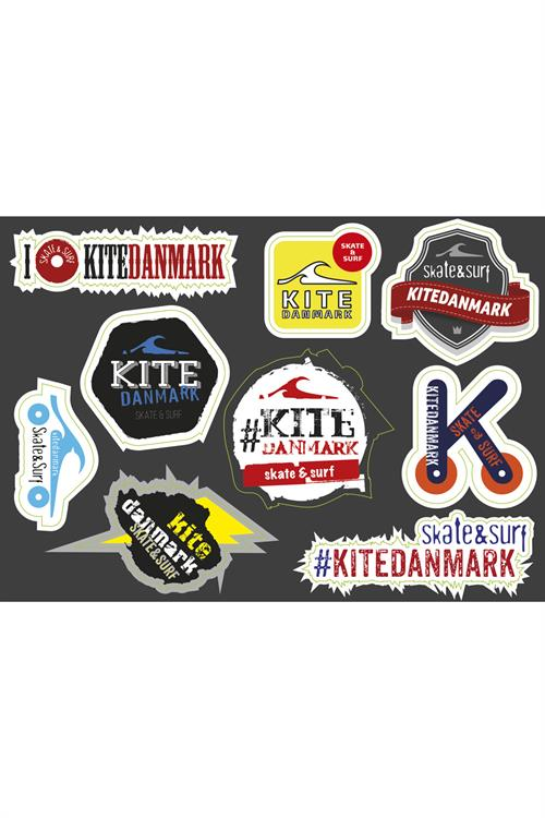 Kitedanmark Stickers Ark