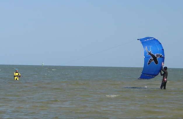 Kitesurfing - lær at landstarte din kite