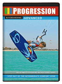 Kite surf instruktions video / DVD - avanceret