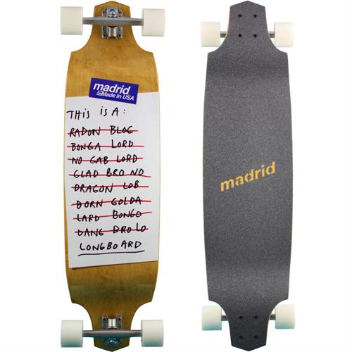 Madrid Anagram Longboard