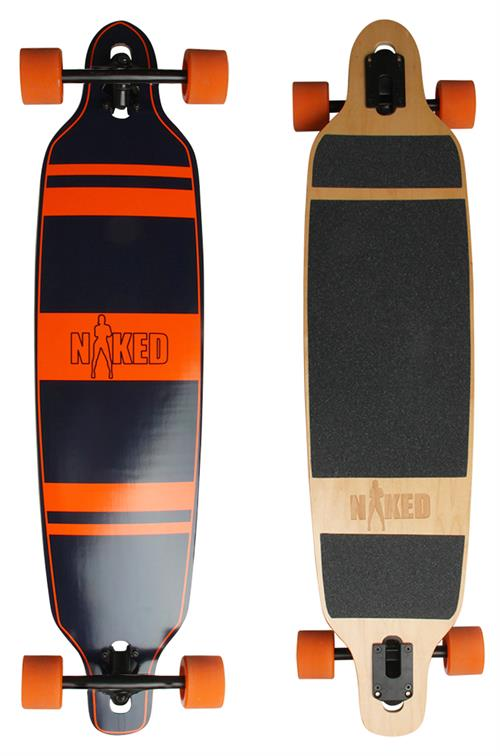 Naked Chicago Longboard