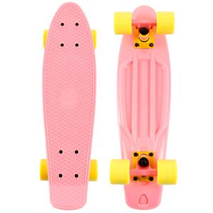 Naked Organic Pink Deluxe Skateboard