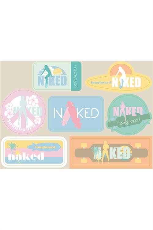 Naked Stickers Ark