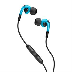Skullcandy Fix in Ear  w. mic - Hot Blue/Black