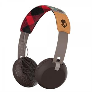Skullcandy GRIND Wireless - Tan/Camo/Brown