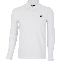 Manera Polo Shirt Le Morne Long Sleeves White