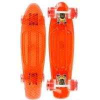 Annox LED Cruiser Skateboard - Orange