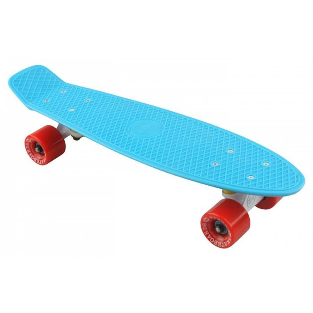 Naked Original Blue Deluxe Skateboard - Hele Danmarks