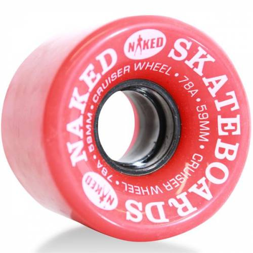 Naked Deluxe 59mm 78A - 1 stk.