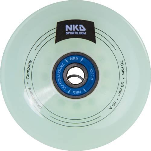 NKD Longboard Hjul 70 mm/80 A
