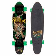 Sector 9 Stalker Rasta Native Longboard